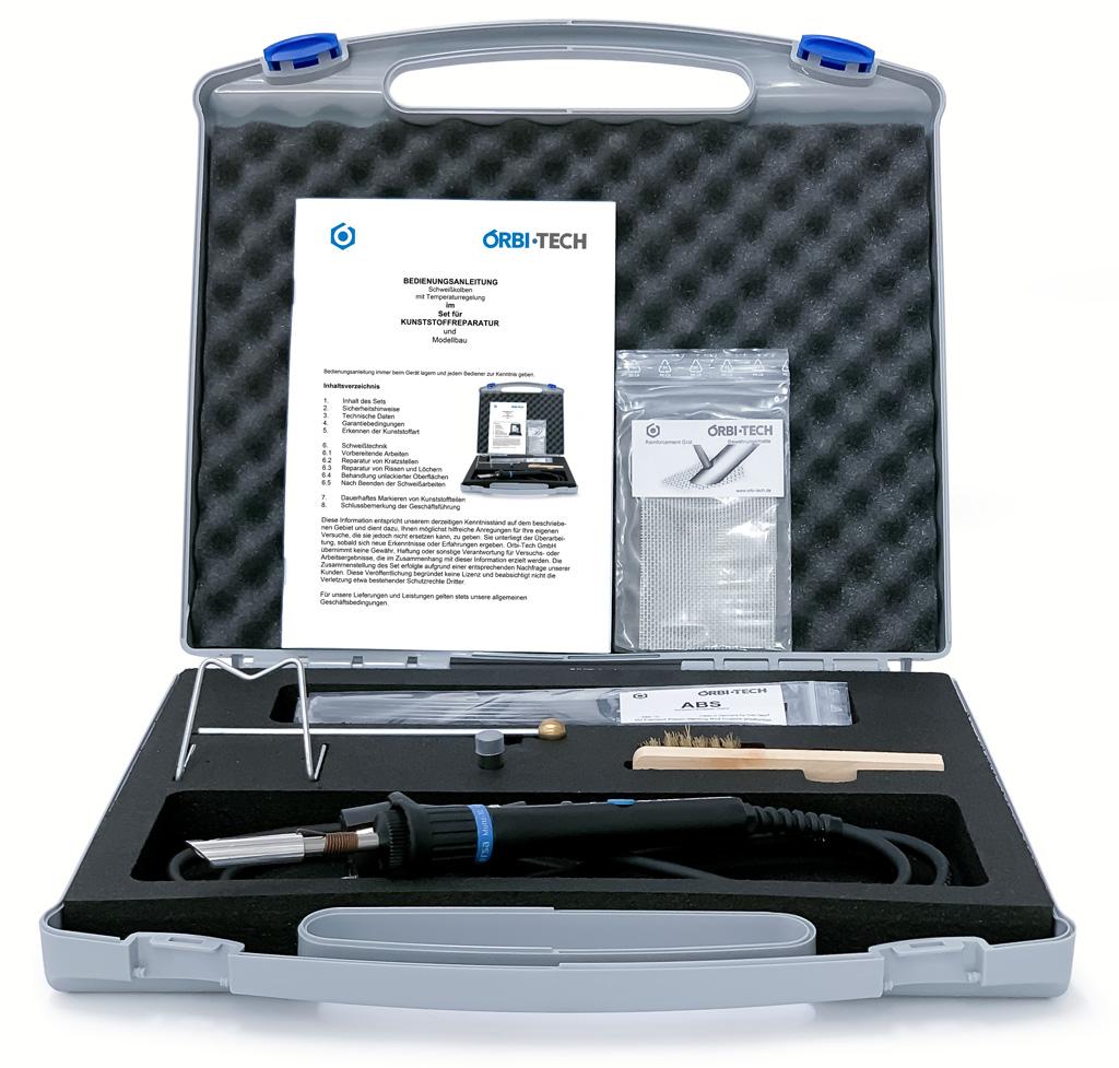 Reparaturset für Kunststoff plastic repair kit
